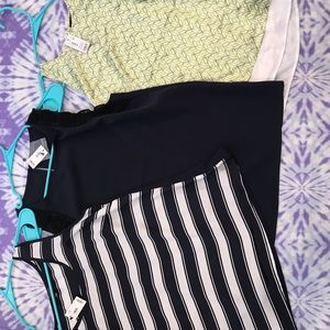Lot of 3 NWT The Limited Shells Size M